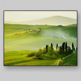 Landscape of Tuscany in spring, Italy