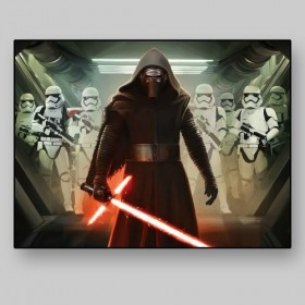 Kylo Ren and  First Order Stormtroopers, Star Wars