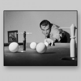 Sean Connery, Bar Billiards, 1962