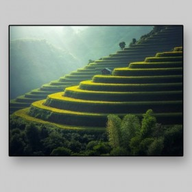 Balconies of rice, Bali