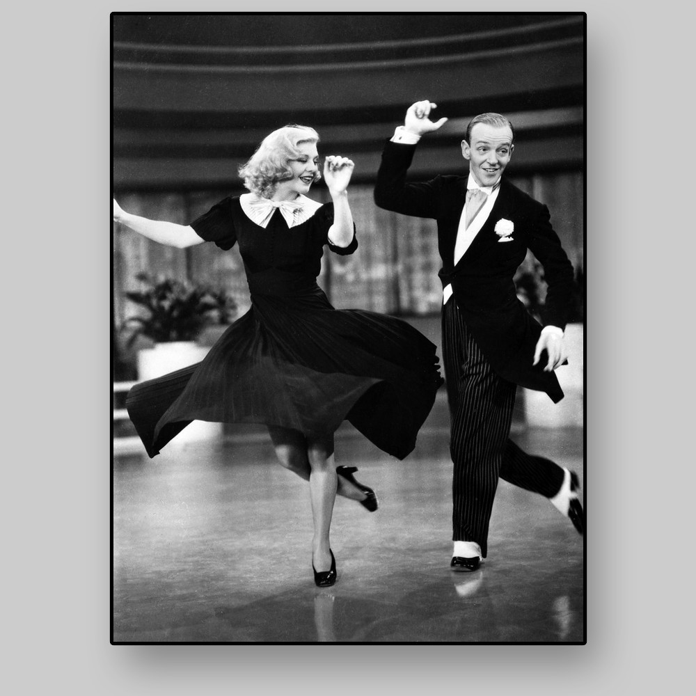 Fred Astaire And Ginger Rogers All4prints