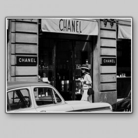 Coco Chanel at the Chanel Store, Paris, 1962