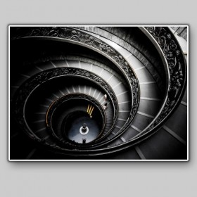 Spiral Staircase, Variety Museums, Rome