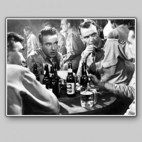 Montgomery Clift y Frank Sinatra in From here to eternity