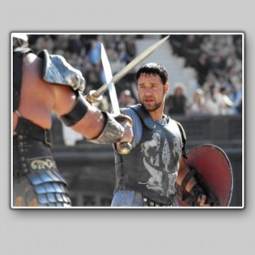 Russel Crowe at Gladiator