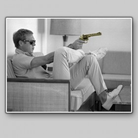 Steve McQueen, Palm Springs, USA