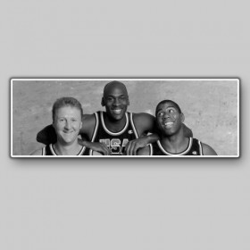 The Dream team Michael Jordan, Magic Jonhson, Larry Bird