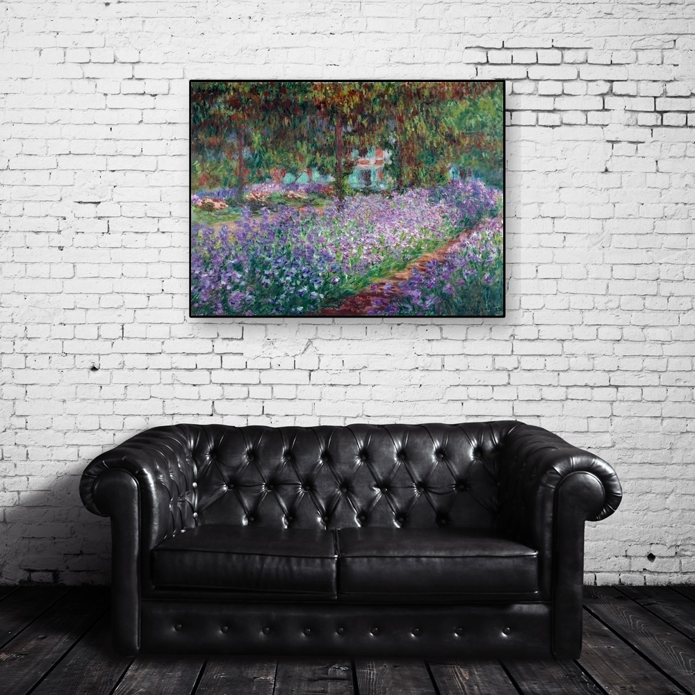 Claude Monet Le Jardin De L Artiste A Giverny All4prints