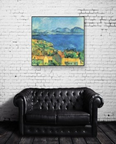 Paul Cézanne, Le golfe de Marseille vu de L'Estaque