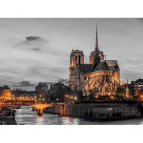 Notre Dame de Paris by the Seine