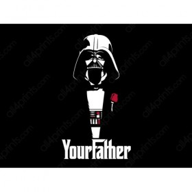 Darth Vader in The Godfather
