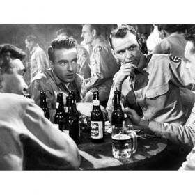 Montgomery Clift and Frank Sinatra in From here to eternity