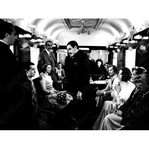 Sean Connery, Laurent Bacal e Ingrid Bergman en Murder on the Orient Express