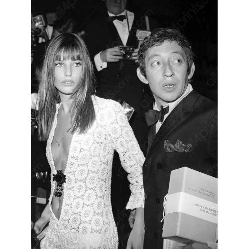 Serge Gainsbourg with Jane Birkin