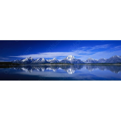 Panoramic view of Mountains of Canada