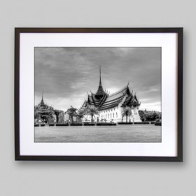 Sanphet Prasat Palace Ancient city of Bangkok, Thailand