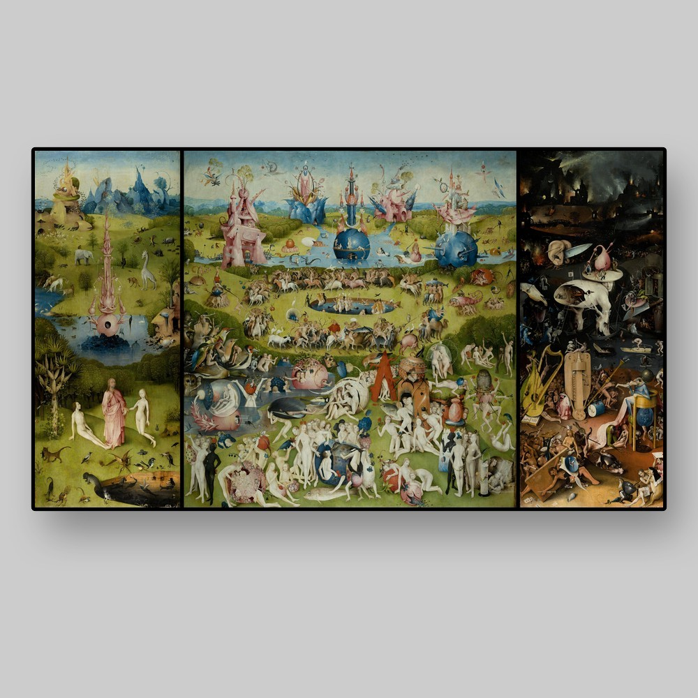 Hieronymus Bosch El Bosco The Garden