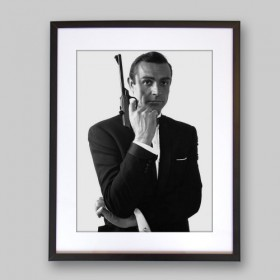 Sean Connery As James Bond All4prints